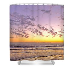 New Moon Shower Curtain by Parrish Todd