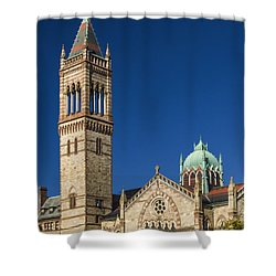 New Old South Church Shower Curtain
