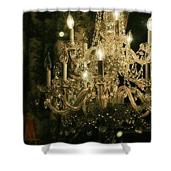 New Orleans Chandelier Shower Curtain