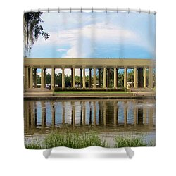 New Orleans City Park - Peristyle Shower Curtain