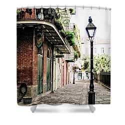 New Orleans Cobblestone Shower Curtain