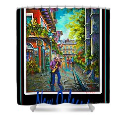 New Orleans Shower Curtain by Dianne Parks