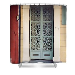 New Orleans Door Shower Curtain