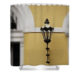 New Orleans Lantern Shower Curtain