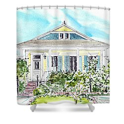 New Orleans Victorian Shower Curtain