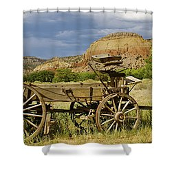 New Photographic Art Print For Sale Ghost Ranch New Mexico 13 Shower Curtain