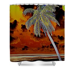 New Photographic Art Print For Sale Paradise Somewhere In The Bahamaramas Shower Curtain