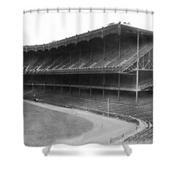 New Yankee Stadium Shower Curtain by Underwood Archives