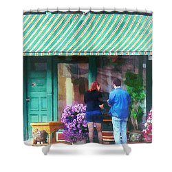 New York - Antique Shop Canandaigua Ny Shower Curtain by Susan Savad