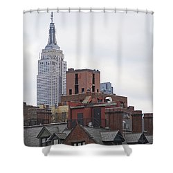 New York Buttes Shower Curtain