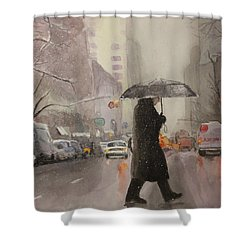 New York Chill Shower Curtain