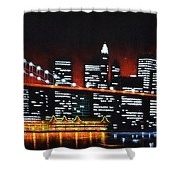 New York City Panaroma Shower Curtain