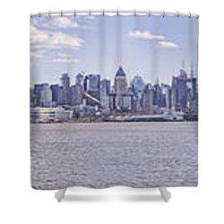 New York City Shower Curtain by Theodore Jones