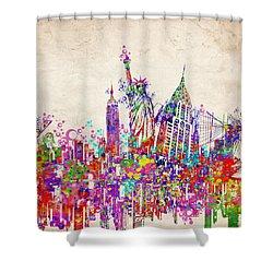 New York City Tribute 2 Shower Curtain
