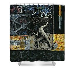 New York City Shower Curtain by Yelena Tylkina