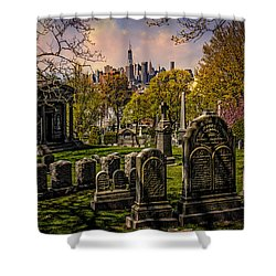 New York From City To City Shower Curtain by Chris Lord