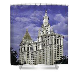 New York Municipal Building Shower Curtain