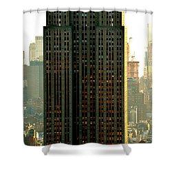 New York Scraper Shower Curtain