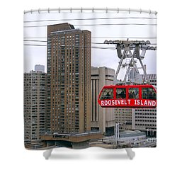 New York State Of Mind Shower Curtain by Ed Weidman