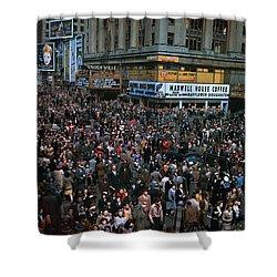 New York: V-e Day, 1945 Shower Curtain by Granger