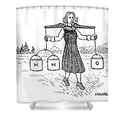 New Yorker July 18th, 1977 Shower Curtain
