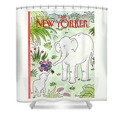 New Yorker May 11th, 1992 Shower Curtain