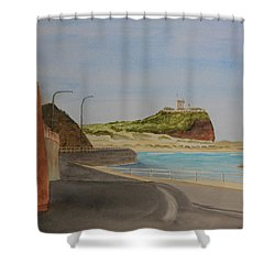 Newcastle Nsw Australia Shower Curtain by Tim Mullaney