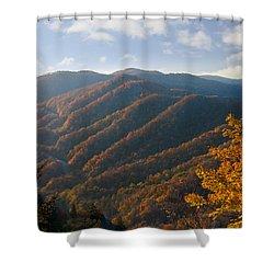 Newfound Gap Shower Curtain