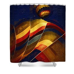 Next To Go Shower Curtain by Kirt Tisdale