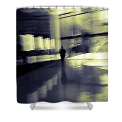 Shower Curtain featuring the photograph Nexus by Alex Lapidus