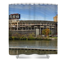 Neyland Stadium Shower Curtain