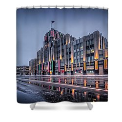 Niagara Mohawk Syracuse Shower Curtain by Everet Regal