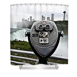 Niagara Vigil Shower Curtain by Richard Reeve