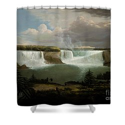Niagra Falls By Alvan Fisher Shower Curtain