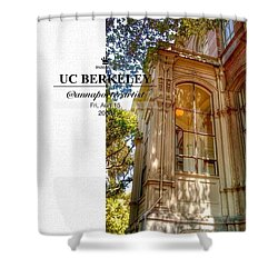 Nice Diggs At Uc Berkeley - Tripping Shower Curtain