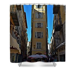 Nice - La Maison Shower Curtain