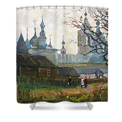 Nicholas Uleyminsky Monastery Shower Curtain