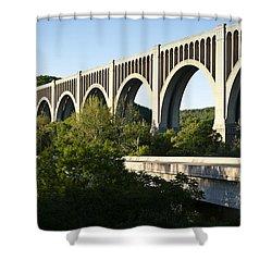 Nicholson Bridge Shower Curtain