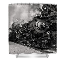 Nickel Plate Berkshire 765 Shower Curtain
