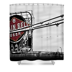 Nicollet Island Treasure Shower Curtain