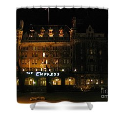Night At The Empress Hotel Shower Curtain