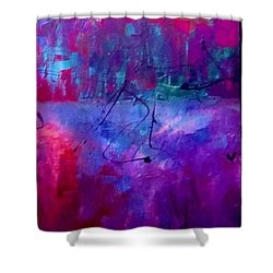 Night Falls Upon Shower Curtain by Lisa Kaiser