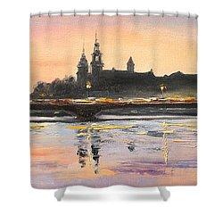 Night In Krakow Shower Curtain