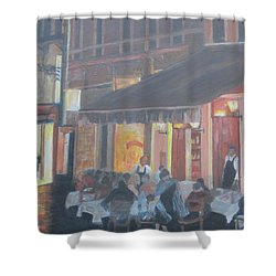 Night In Venice Shower Curtain