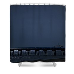 Night Influence Shower Curtain by Laura Fasulo