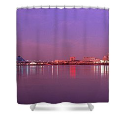 Night Memphis Tn Shower Curtain