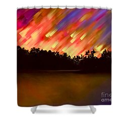 Night Of Wonder Shower Curtain