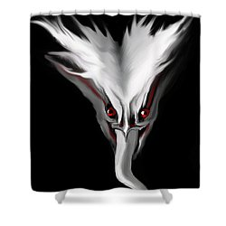 Night Terror Shower Curtain