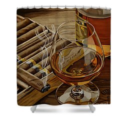Nightcap Shower Curtain