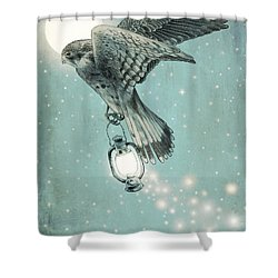 Nighthawk Shower Curtain